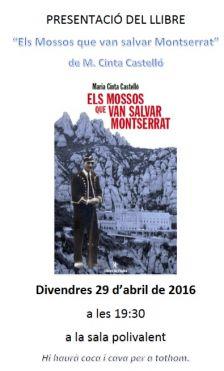 Presentació del llibre Els Mossos que van salvar Montserrat
